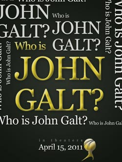 Official iPad Wallpaper - Who is John Galt?