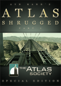 Official Atlas Shrugged Movie DVD: Atlas Society Special Edition