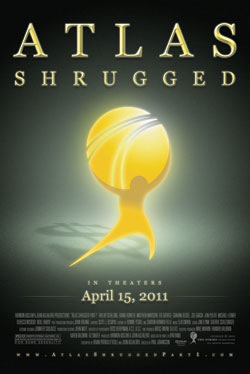 Official Atlas Shrugged Movie Poster - In the Shadows
