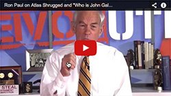 Ron Paul on Atlas Shrugged