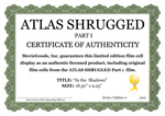 Official Atlas Shrugged Movie COA