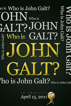 Official iPhone Wallpaper - Who is John Galt?