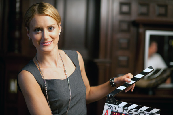 "Photo of Taylor Schilling in the role of Dagny Taggart in part 1 of the ""Atlas Shrugged"" trilogy"