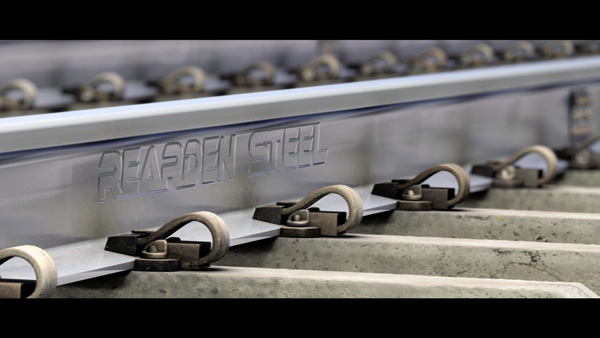 Photo of VFX - Rails made of Rearden Metal